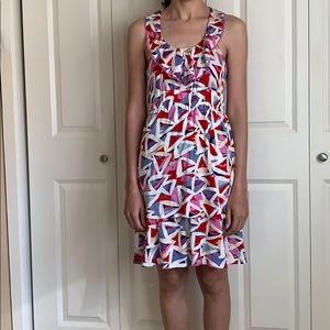 Marc by Marc Jacobs triangle pattern dress XS new